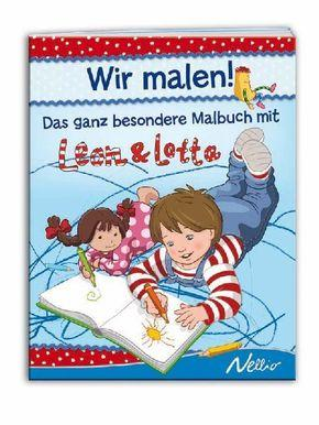 Leon & Lotta - Wir malen! - Stefanie Köhler, Jutta Langer