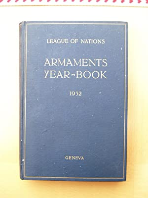 League of Nations Armaments Year-Book 1932