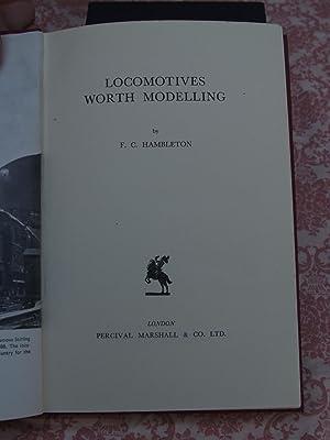 Locomotives worth Modelling: F. C. Hambleton