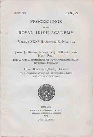 PROCEEDINGS OF THE ROYAL IRISH ACADEMY Volume: James J. Drumm,
