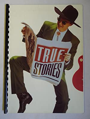 Promotional booklet for 'True Stories', directed by David Byrne
