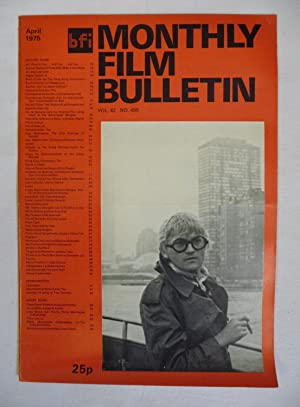Monthly Film Bulletin. 140 issues from vol. 34 no. 397 (February 1967) to vol. 46 no. 549 (Octobe...