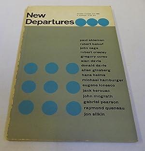 New Departures 2/3: Michael Horovitz (ed.)