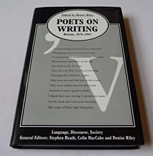 Poets on Writing: Britain, 1970-1991