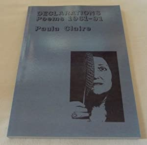 DECLARATIONS: Poems 1961-91