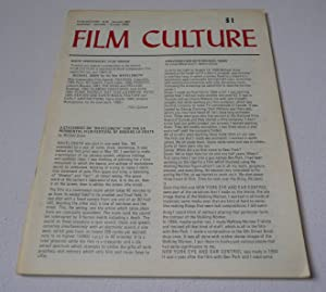 Film Culture 46 (Autumn 1967) (published - belatedly - October 1968)