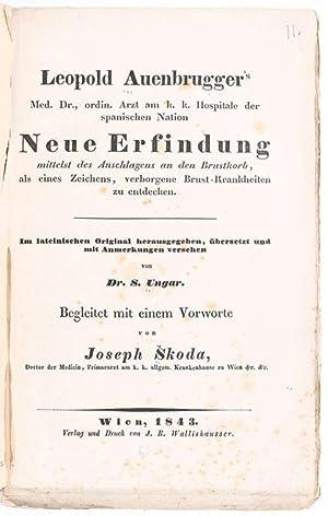 Leopold Auenbrugger's . Neue Erfindung mittelst des: Auenbrugger, Leopold: