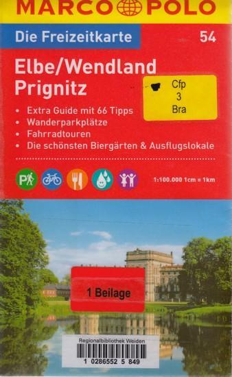 MARCO POLO Freizeitkarte ~ Elbe/Wendland, Prignitz 1:100.000 + Extra Guide. - Diverse
