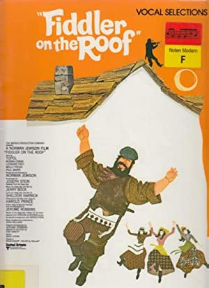 Fiddler On The Roof - Vocal Selections.