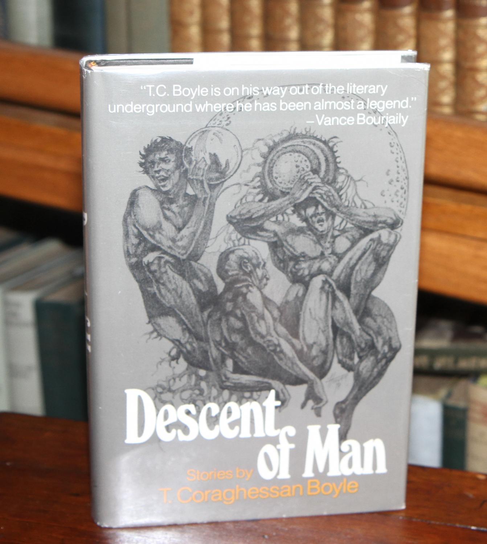 Descent of Man Boyle, T. Coraghessan Fine Hardcover