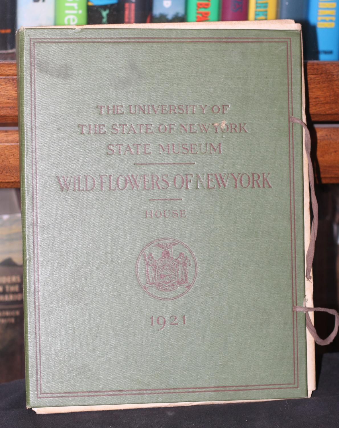 Wildflowers of New York University of the State of New York Near Fine Hardcover