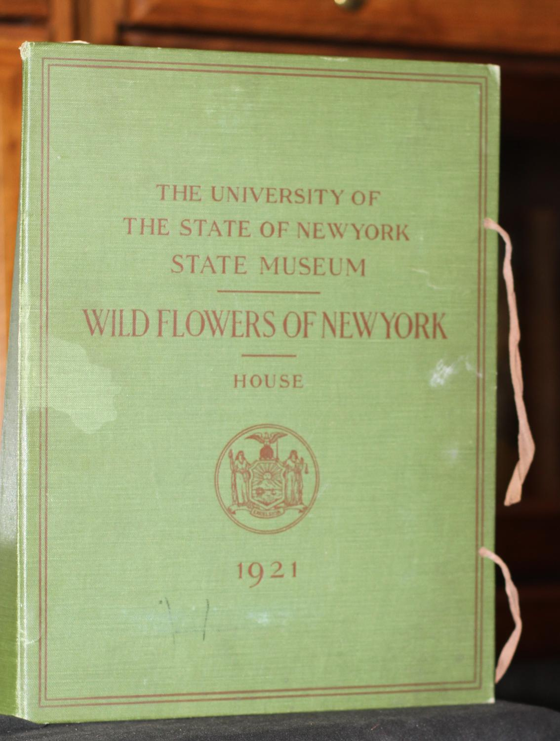 Wildflowers of New York University of the State of New York State Museum Very Good Hardcover