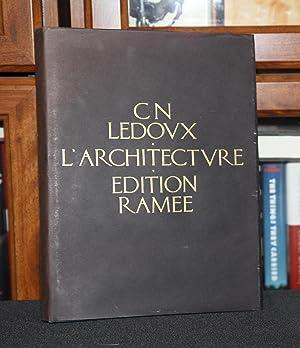 L'Architecture Edition Ramee ( Architecture Premier Volume: Ledoux, De C.