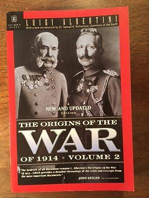 Origins Of The War Of 1914 Volume: Luigi Albertini
