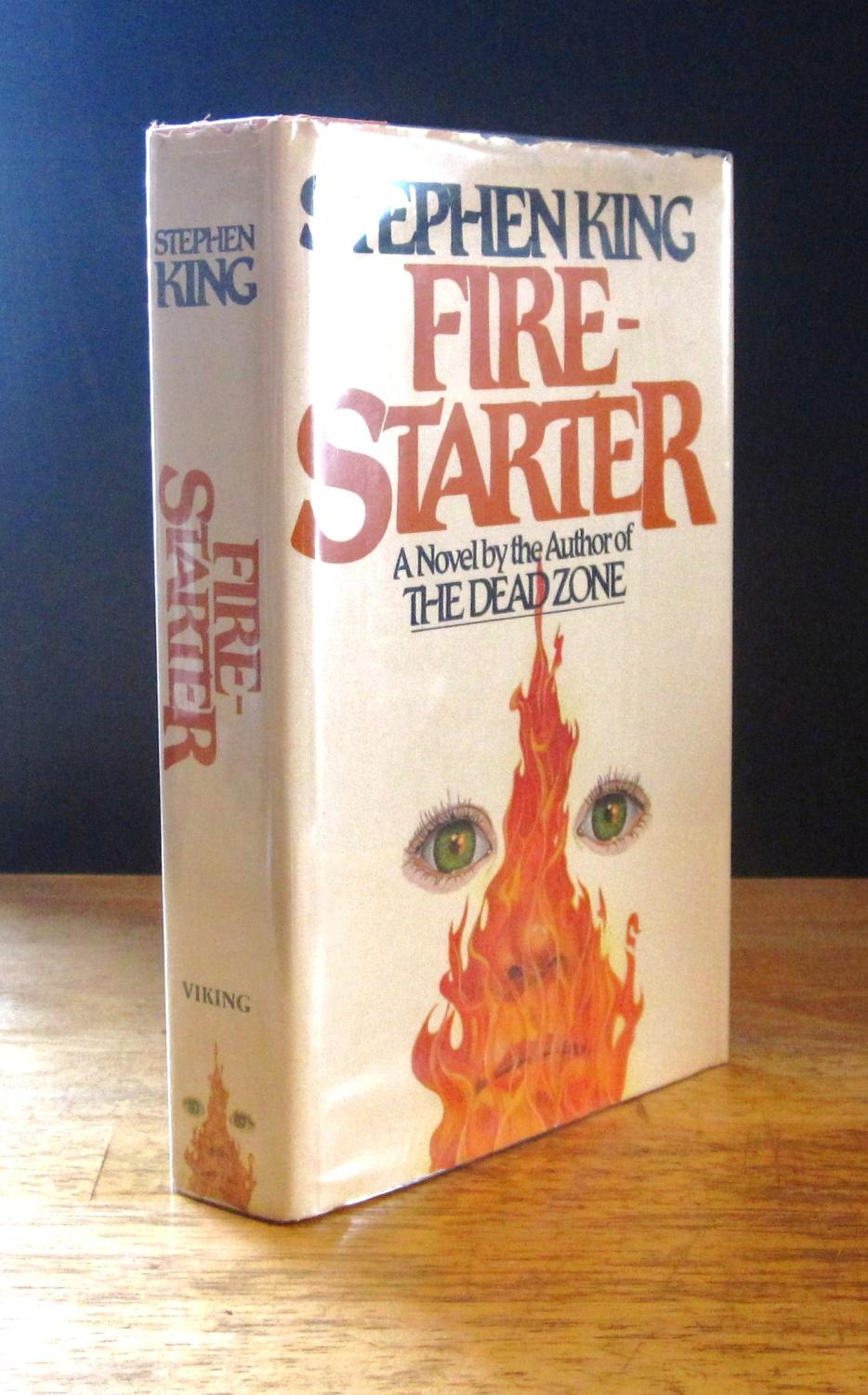Firestarter: A Novel [Signed] King, Stephen Very Good Hardcover