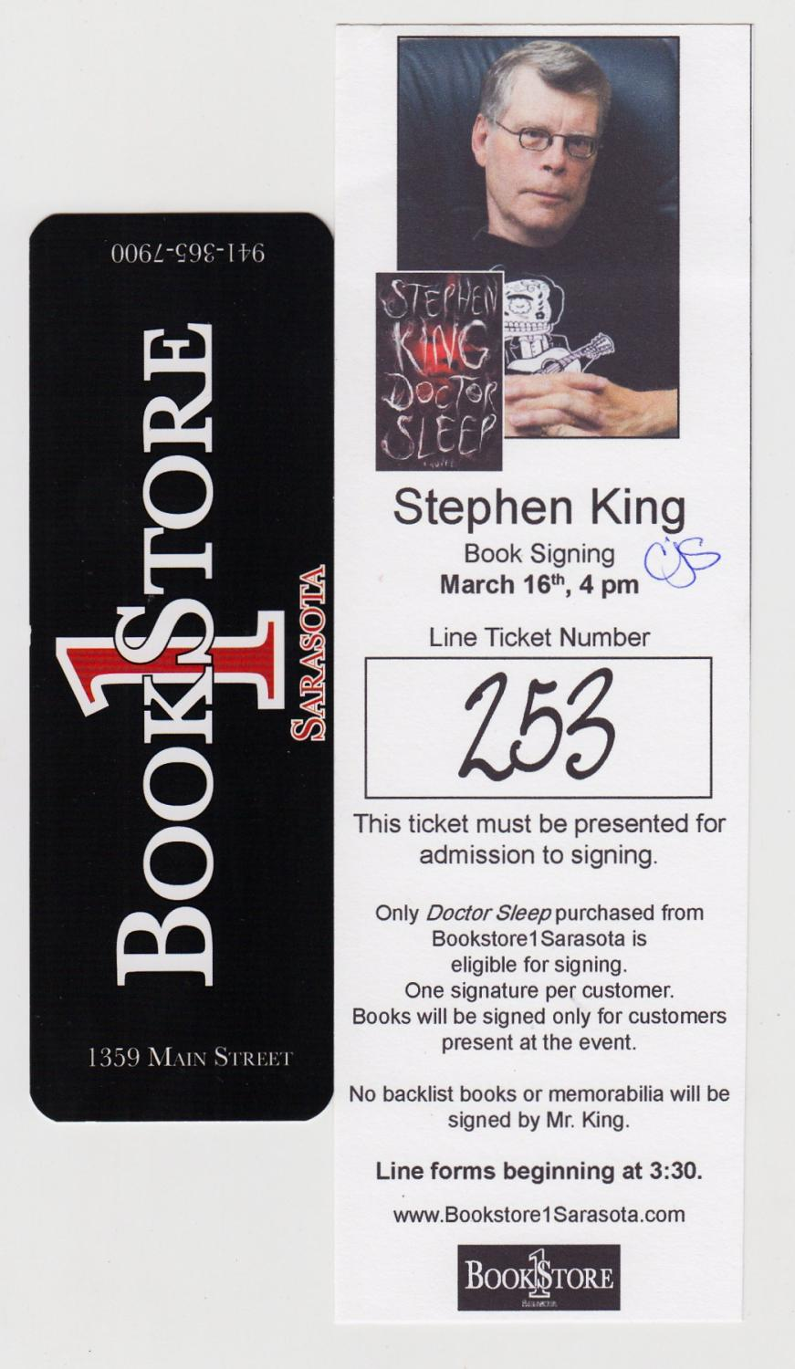 Doctor Sleep: A Novel [Signed First Edition] by King