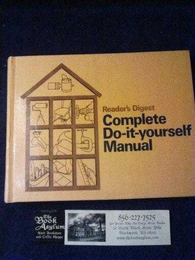 Readers digest complete do it yourself manual by readers digest readers digest complete do it yourself manual readers digest solutioingenieria Choice Image