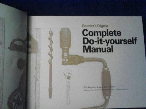 Readers digest complete do it yourself manual by readers digest readers digest complete do it yourself manual readers solutioingenieria Gallery