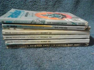 Analog Science Fiction/Science Fact Magazine 1961,68, and 1982. 6 Issues