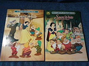 Walt Disney's Snow White and the Seven Dwarfs Coloring books (x2)