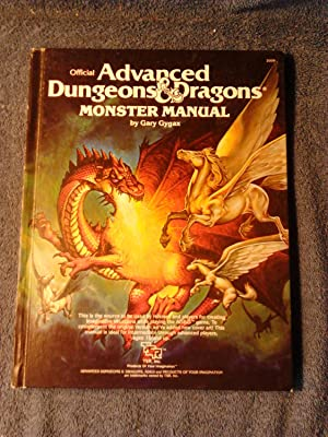 Official Advanced Dungeons & Dragons:Monster Manual: Gygax, Gary