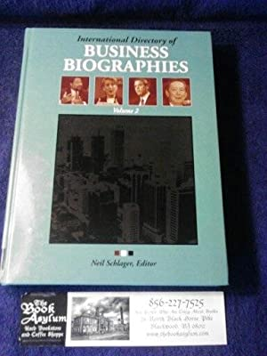 International Directory of Business Biographies Volume 2