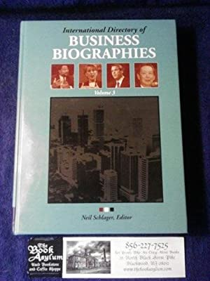 International Directory of Business Biographies Volume 3