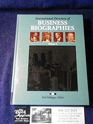 International Directory of Business Biographies Volume 4