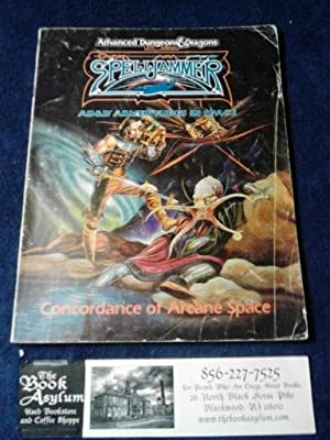 Spelljammer AD&D Adventures in Space Concordance of Arcane Space