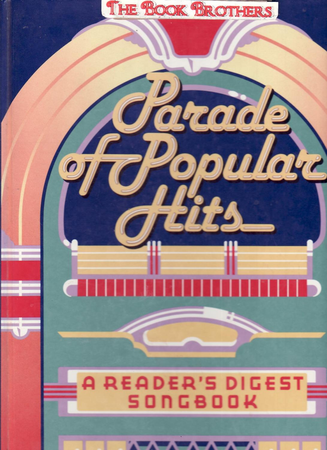 parade of popular hits readers digest songbook