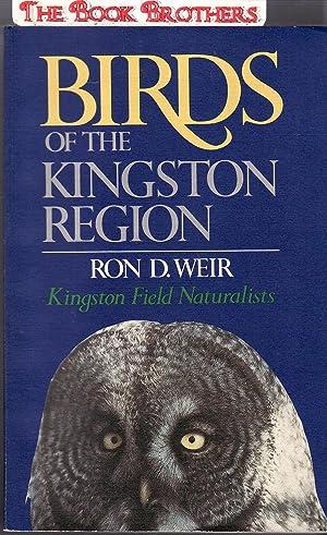 Birds of the Kingston Region: Weir, Ron D.9Kingston