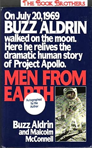 Men from Earth (SIGNED): Aldrin, Buzz;McConnell, Malcolm