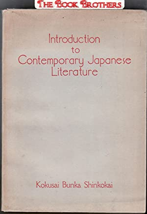 Introduction to Contemporary Japanese Literature: Shinkokai,Kokusai Bunka