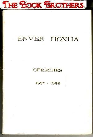 Enver Hoxha:Speeches, 1967-1968: Hoxha,Enver