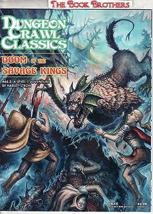 stroh harley - doom of the savage kings dungeon crawl classics 66 5