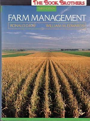 Farm Management:Third Edition: Kay, Ronald D.;Edwards,