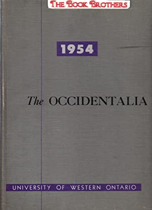 The Occidentalia of 1954;The University of Western Ontario,London,Ontario,Canada: Tafel,Richard (...
