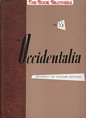 The Occidentalia 1955;The University of Western Ontario,London,Ontario,Canada: Davies,Ted (Editor)