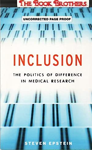 Inclusion : The Politics of Difference in: Epstein, Steven