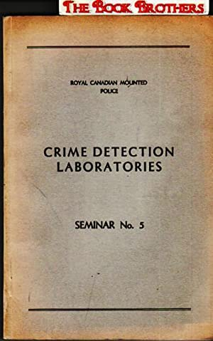 """Crime Detection Laboratories;""""Questioned Documents in Crime Detection"""":Proceedings: Huber,Sgt. R.A.;Editor"""