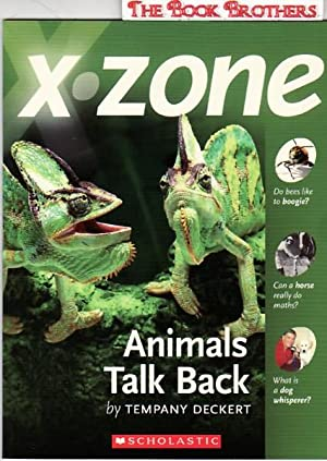X-Zone:Animals Talk Back: Deckert,Tempany