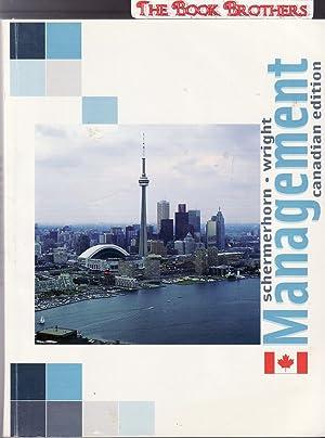 Management:Canadian Edition: Schermerhorn,John R. (Jr);Wright,Barry