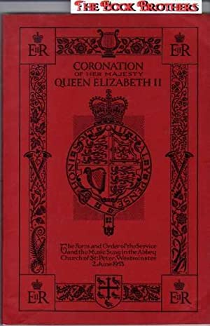 The Music with the Form and Order of the Service to be Performed at the Coronation of Her Most ...