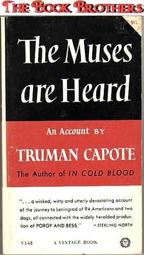 The Muses are Heard: Truman Capote
