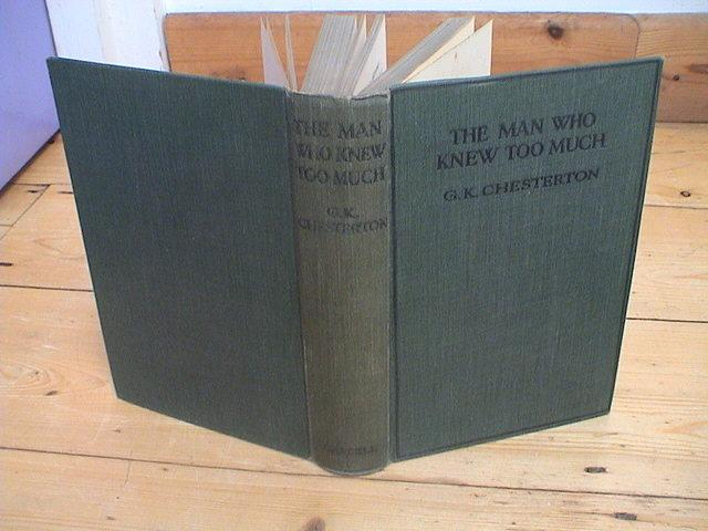 The Man Who Knew Too Much Chesterton, G. K. Hardcover