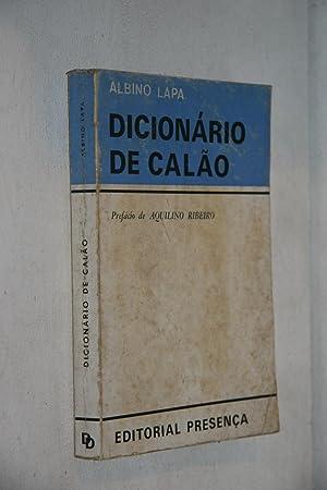 Dicionario de Calão: Albino Lapa /