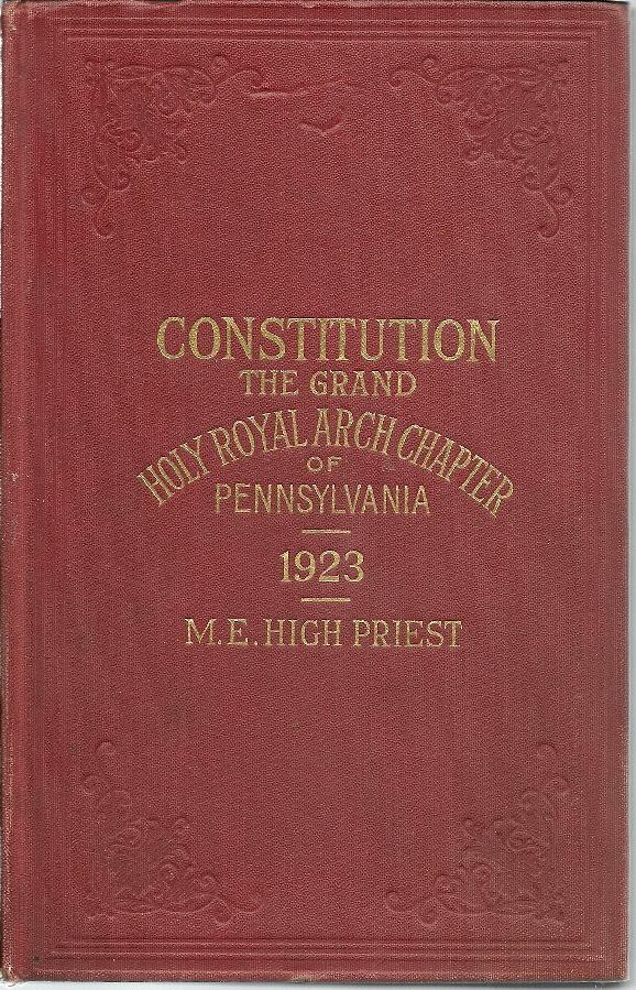 The Constitution Of The Grand Holy Royal