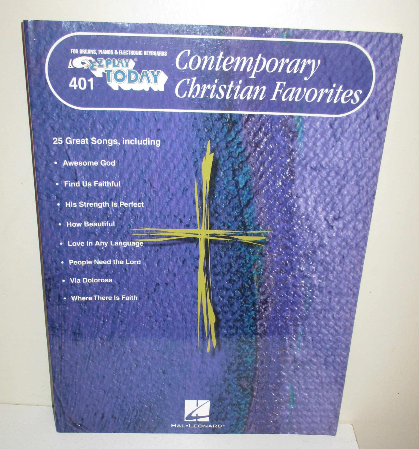 Contemporary Christian Favorites (E-Z Paly Today 401)