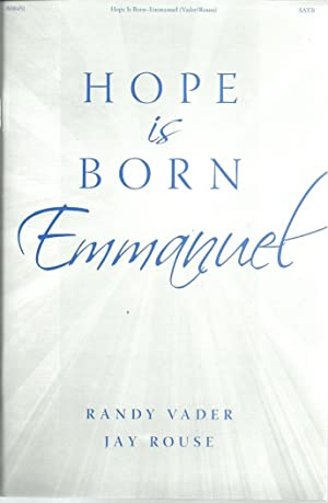 Hope is Born Emmanuel (Songbook with 2: Vader, Randy &