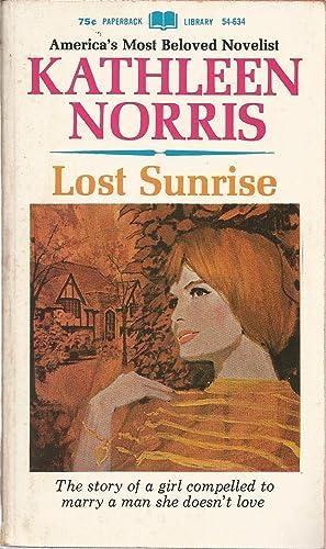 Lost Sunrise: Norris, Kathleen, Illustrated